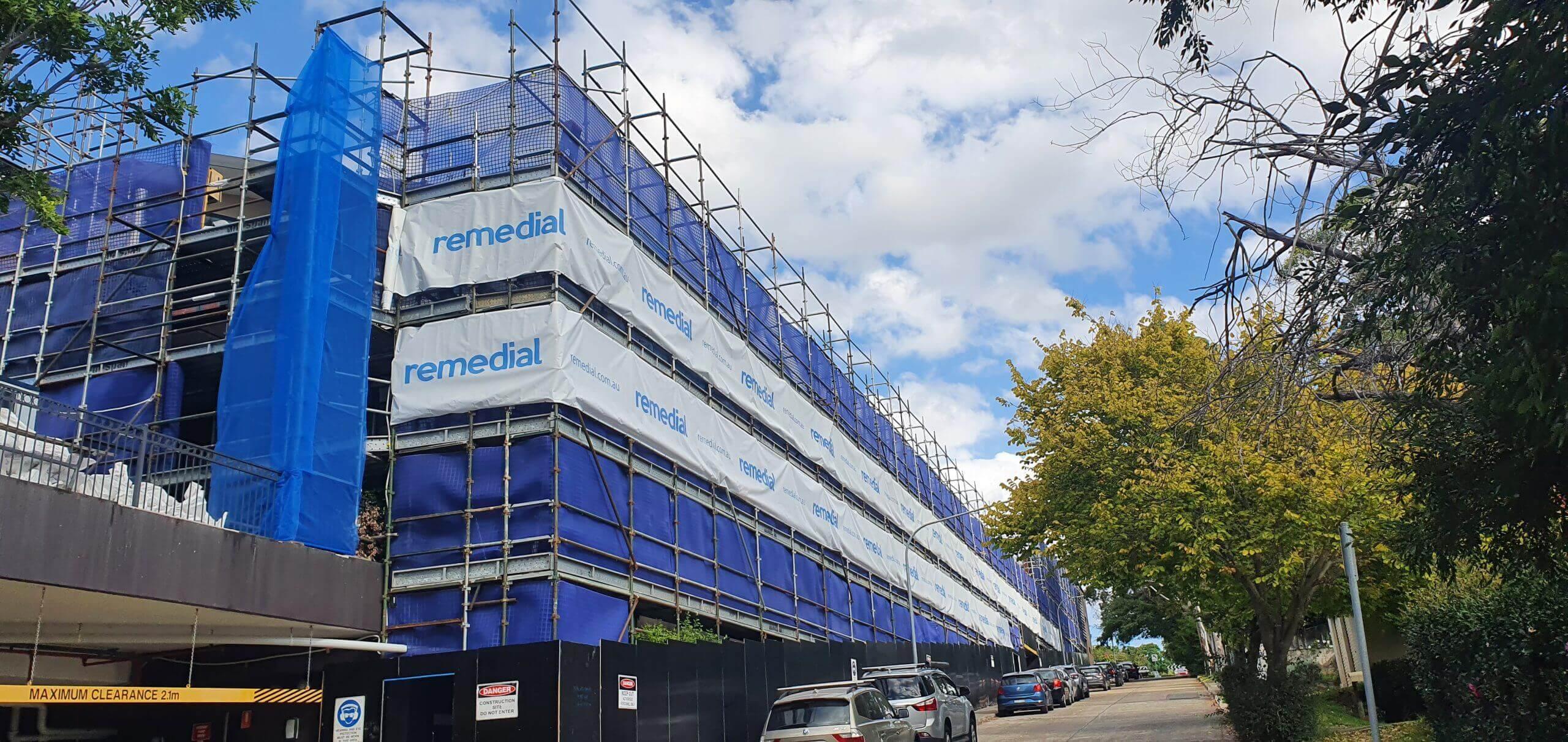 Large Aparment Complex Rectifcation - Building Façade - Remedial Building Services