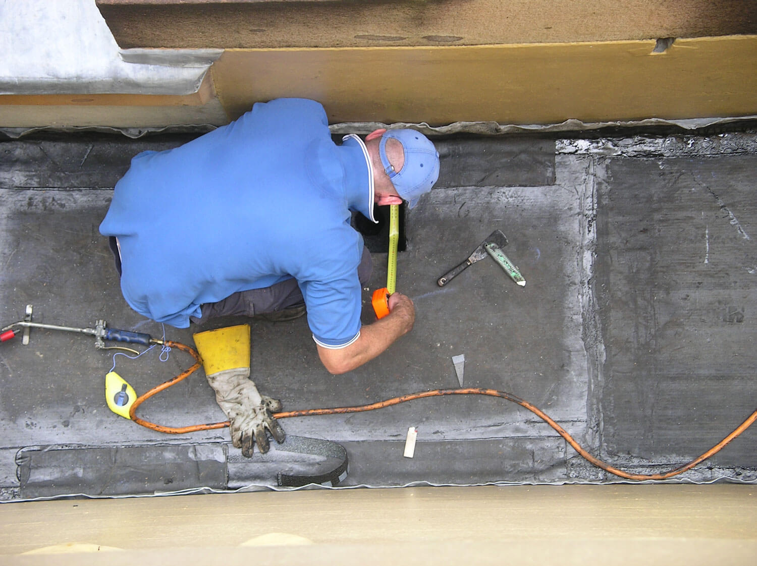 Application Of New Membrane - Waterproofing Specialist - Remedial Building Services