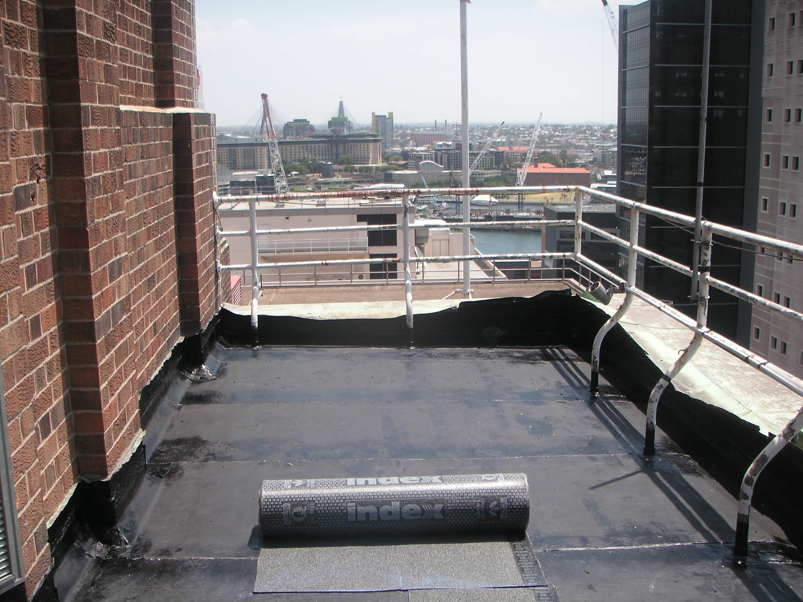 Waterproofing At The Balcony - Waterproofing Specialist - Remedial Building Services