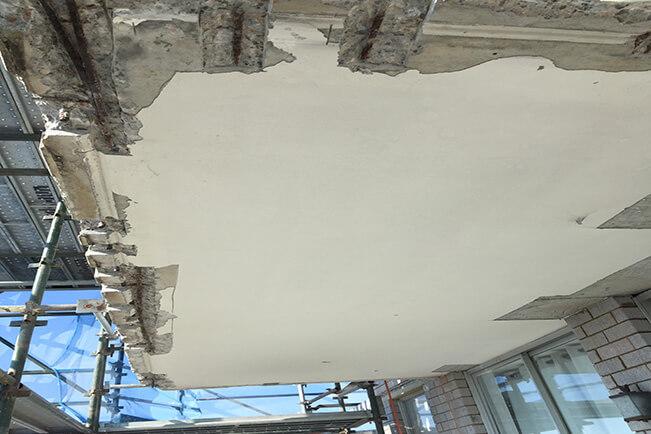 Concrete Damage - Concrete Spalling - Remedial Building Services