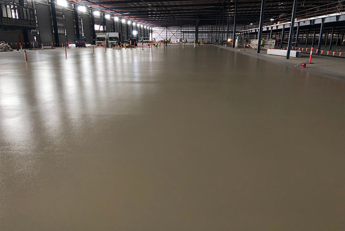 Epoxy Flooring Works At Oakdale - Flooring Options - Remedial Building Services