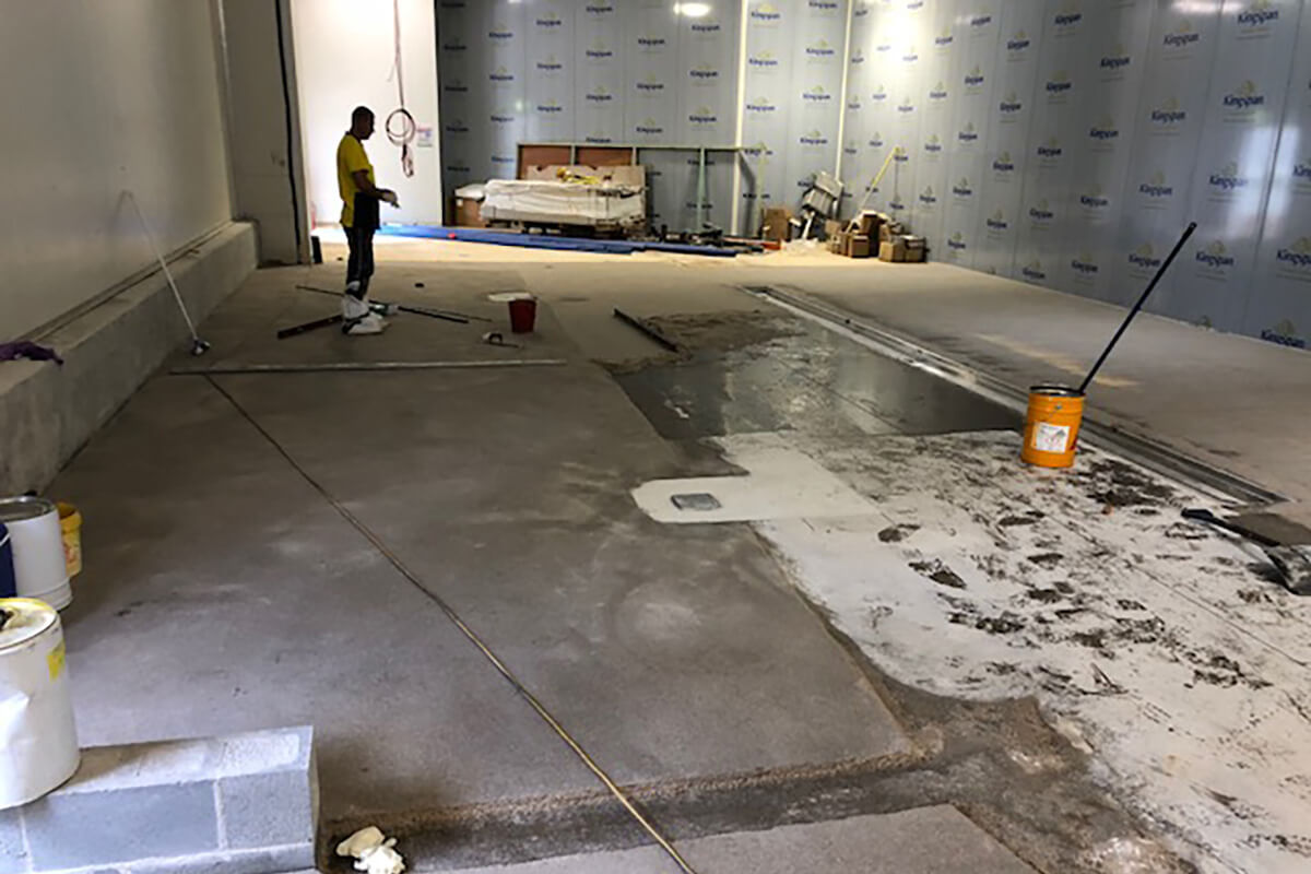 Construction of Flooring Surface - Flooring Solutions - Remedial Building Services