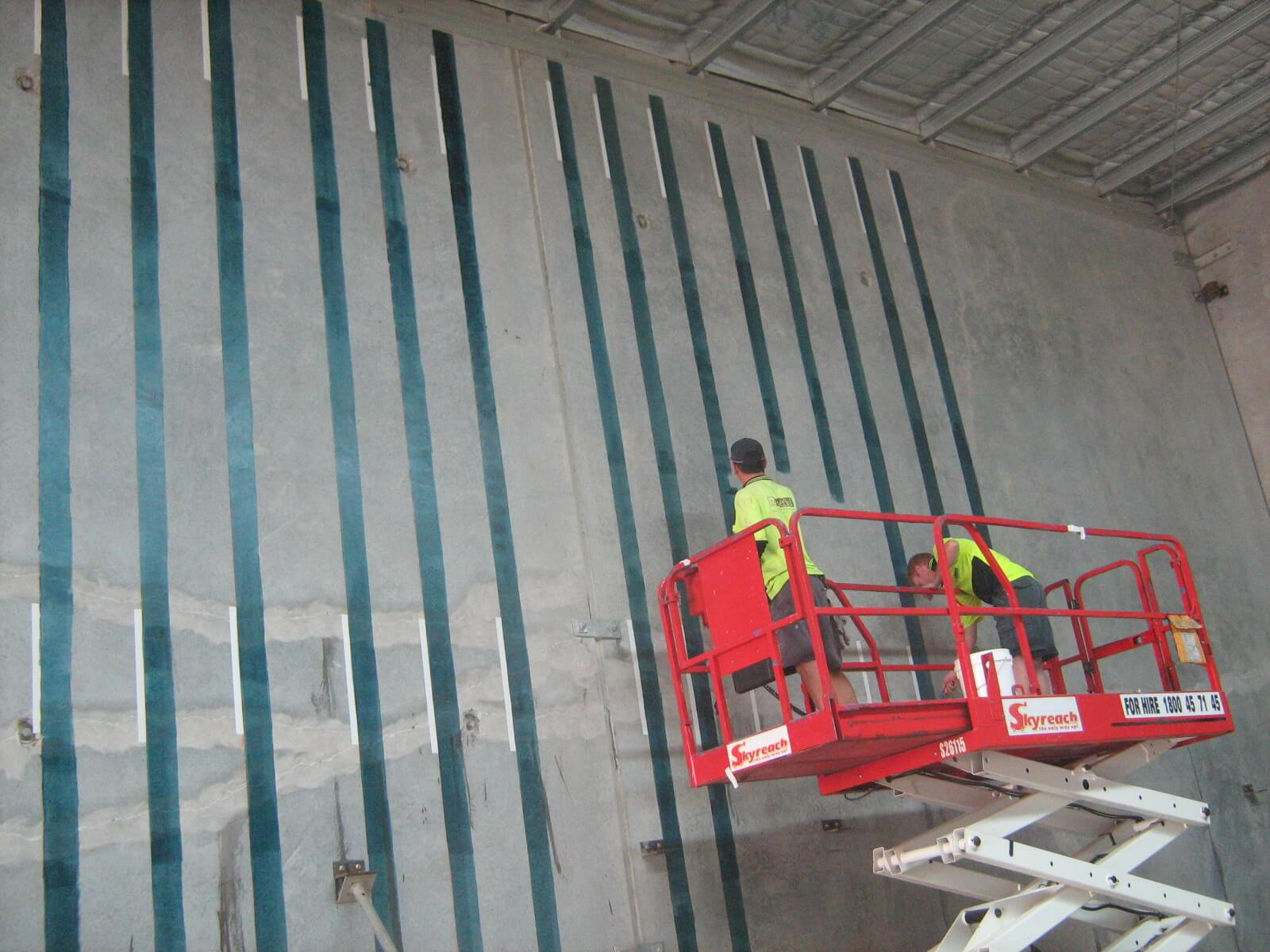 Carbon Fibre Strips To Wall - Building Structural Issues - Remedial Building Services