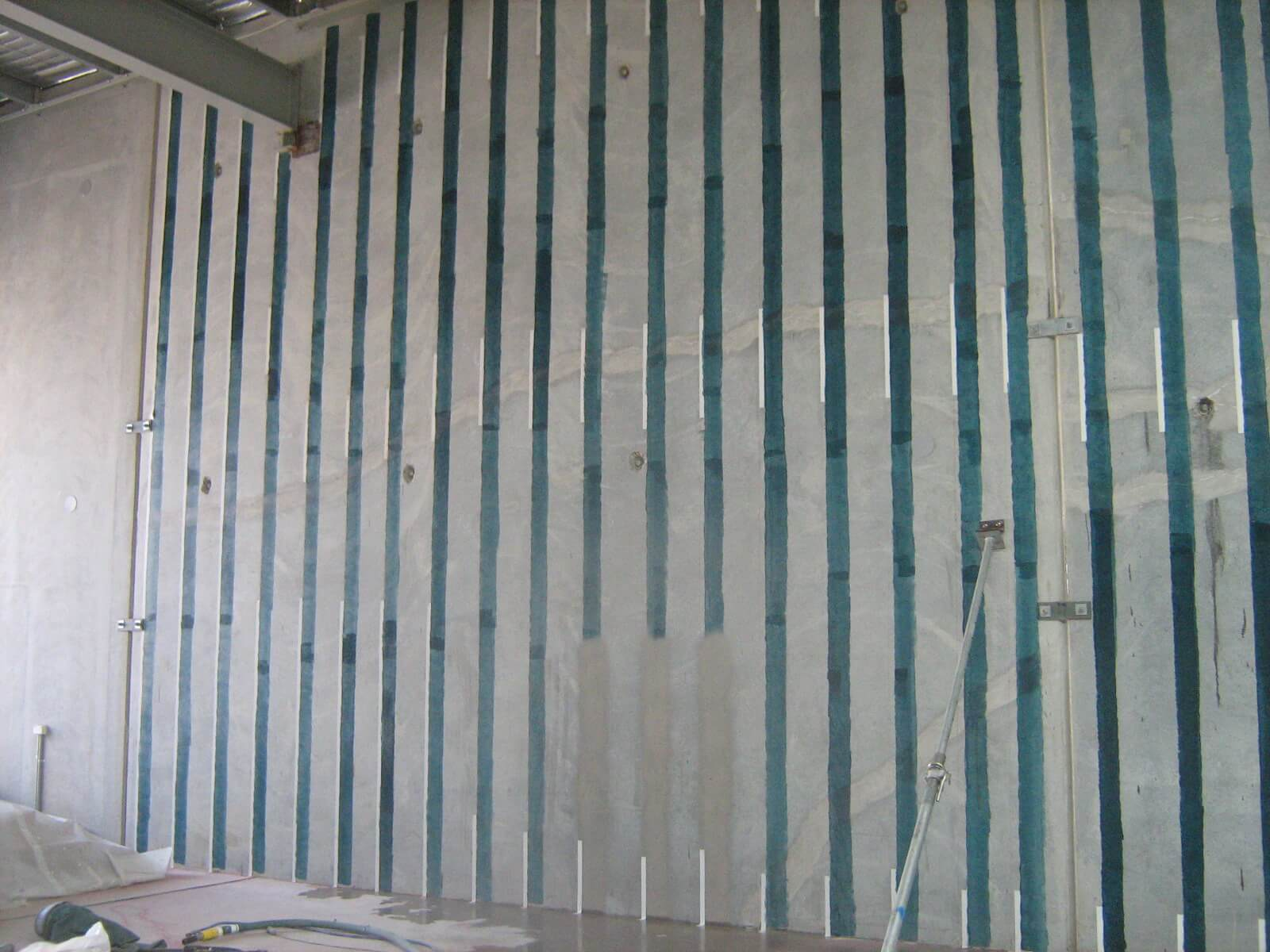 Carbon Fibre Strips To Wall - Structural Building Repair - Remedial Building Services