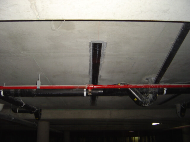 Carbon Fibre Strips To Slab - Building Structural Issues - Remedial Building Services