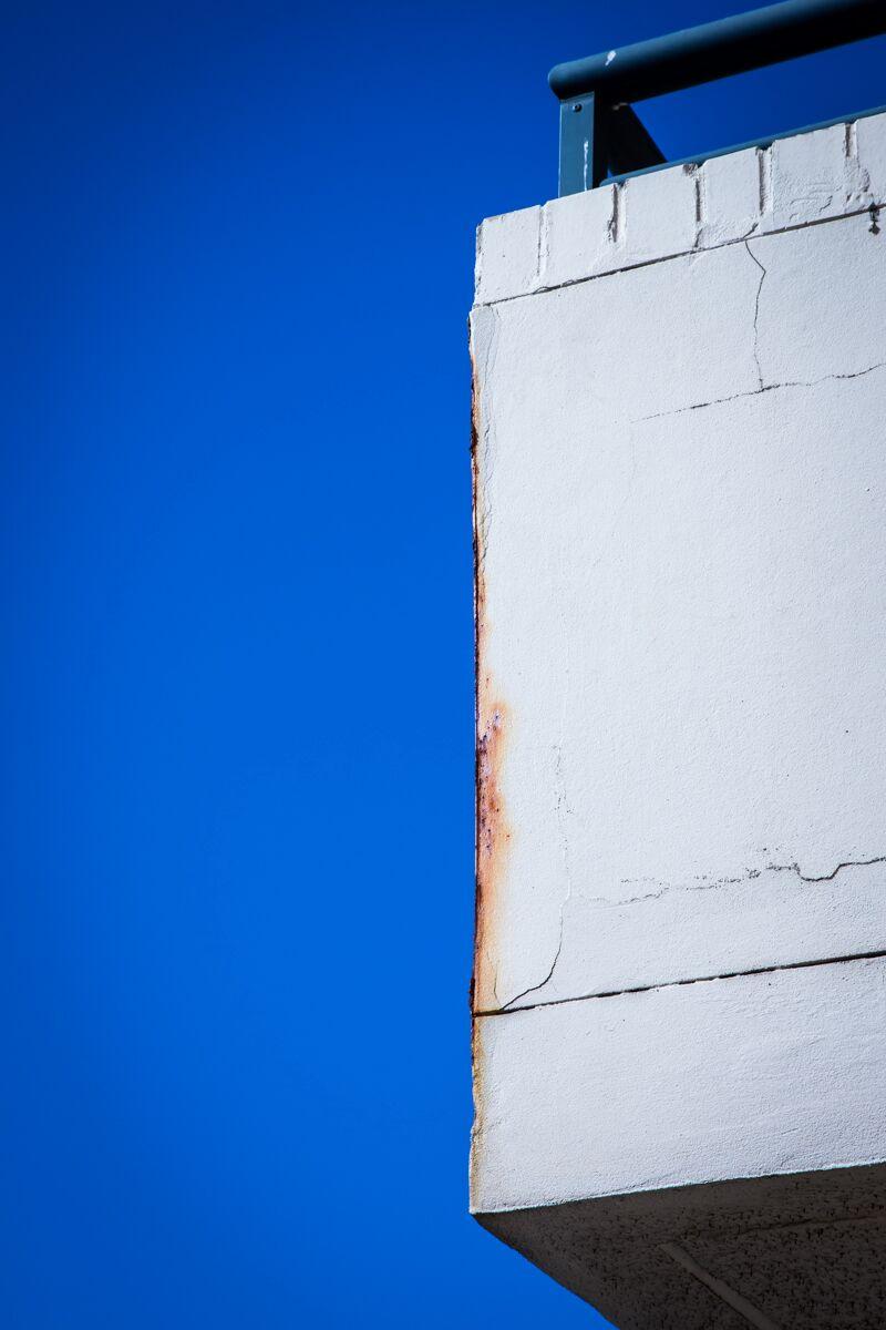 Concrete Rust Stains - Concrete Repair - Remedial Building Services