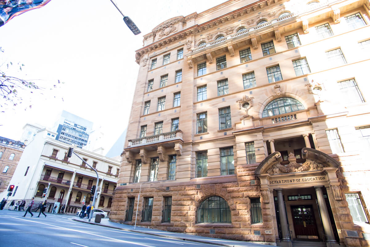 Department of Education Building - Façade Upgrades - Remedial Building Services