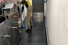 Preparation For Dycem Flooring Application - Flooring Solutions - Remedial Building Services