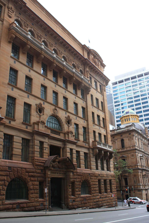 Department Of Education Building - Façade Repair - Remedial Building Services