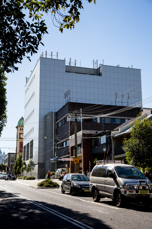 Redfern Telephone Exchange - Building Facade Cladding - Remedial Building Services