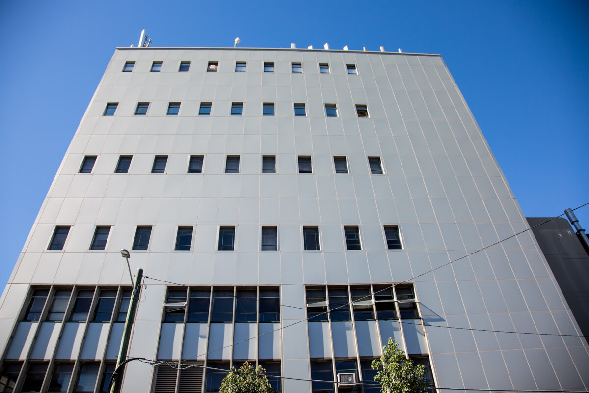 Redfern Telephone Exchange - Cladding Replacement - Remedial Building Services