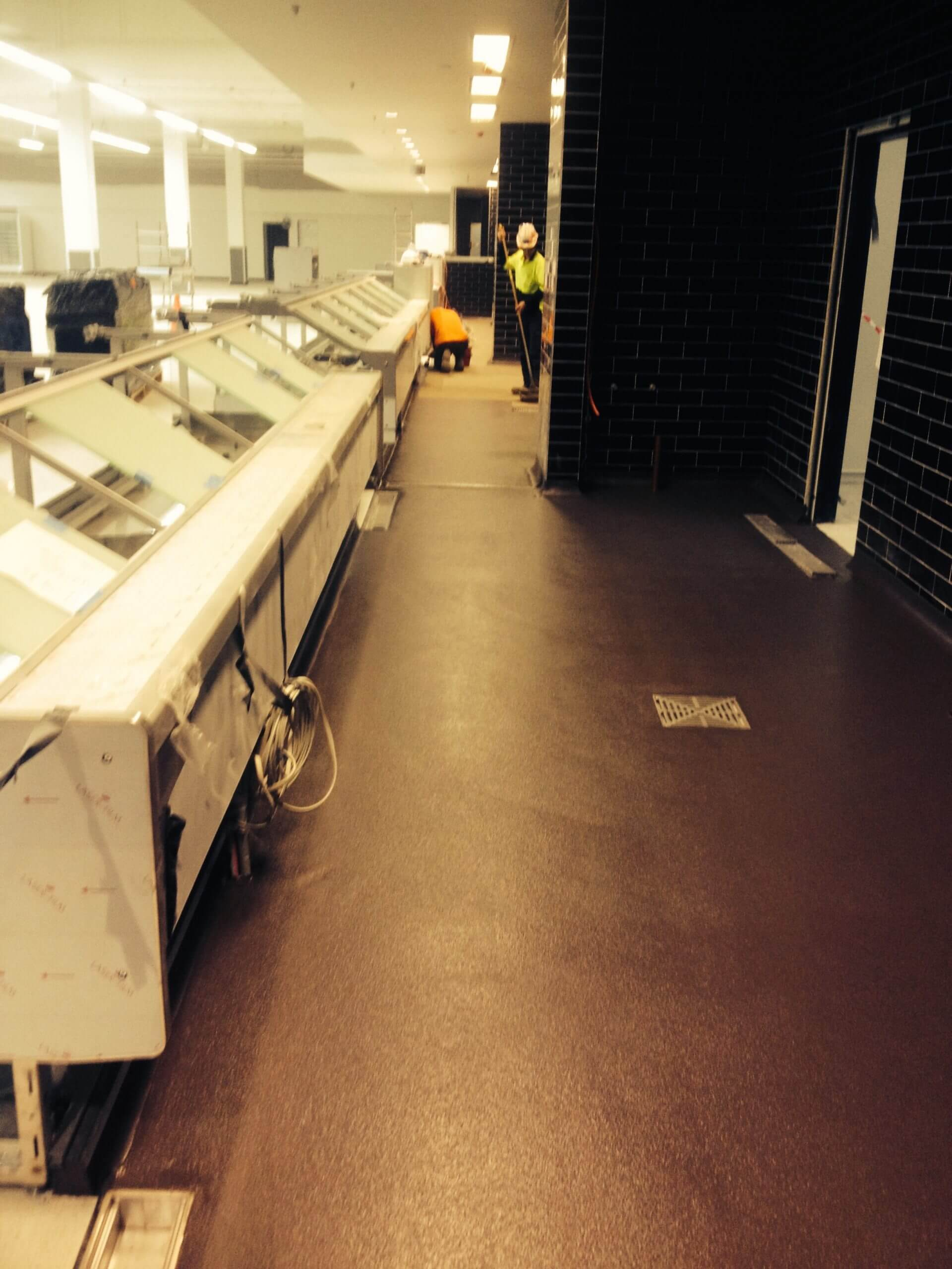 Supermarket Flooring Completed - Flooring Solutions - Remedial Building Services