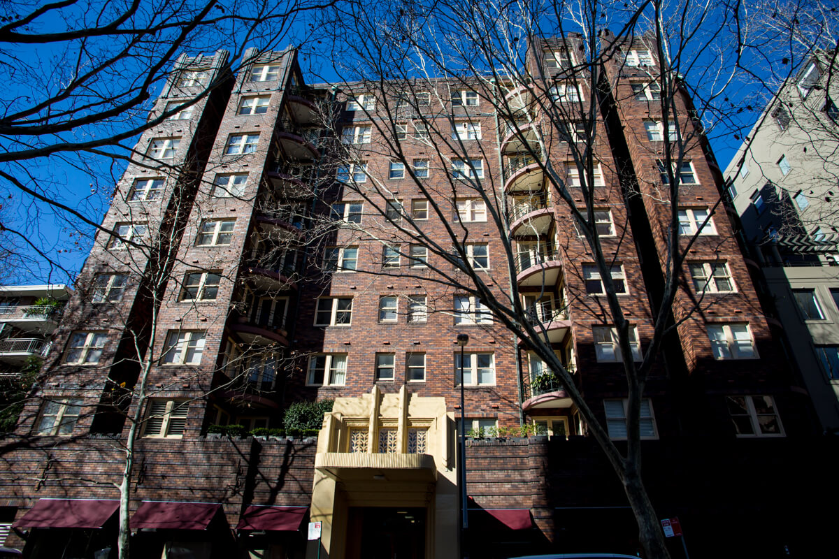 Macleay Street Apartments, Potts Point - Concrete Cancer - Remedial Building Services