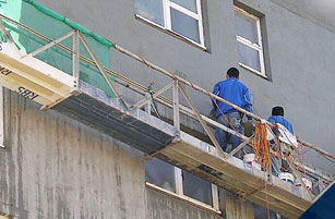 Building Repairs Works On Progress - Building Maintenance - Remedial Building Services