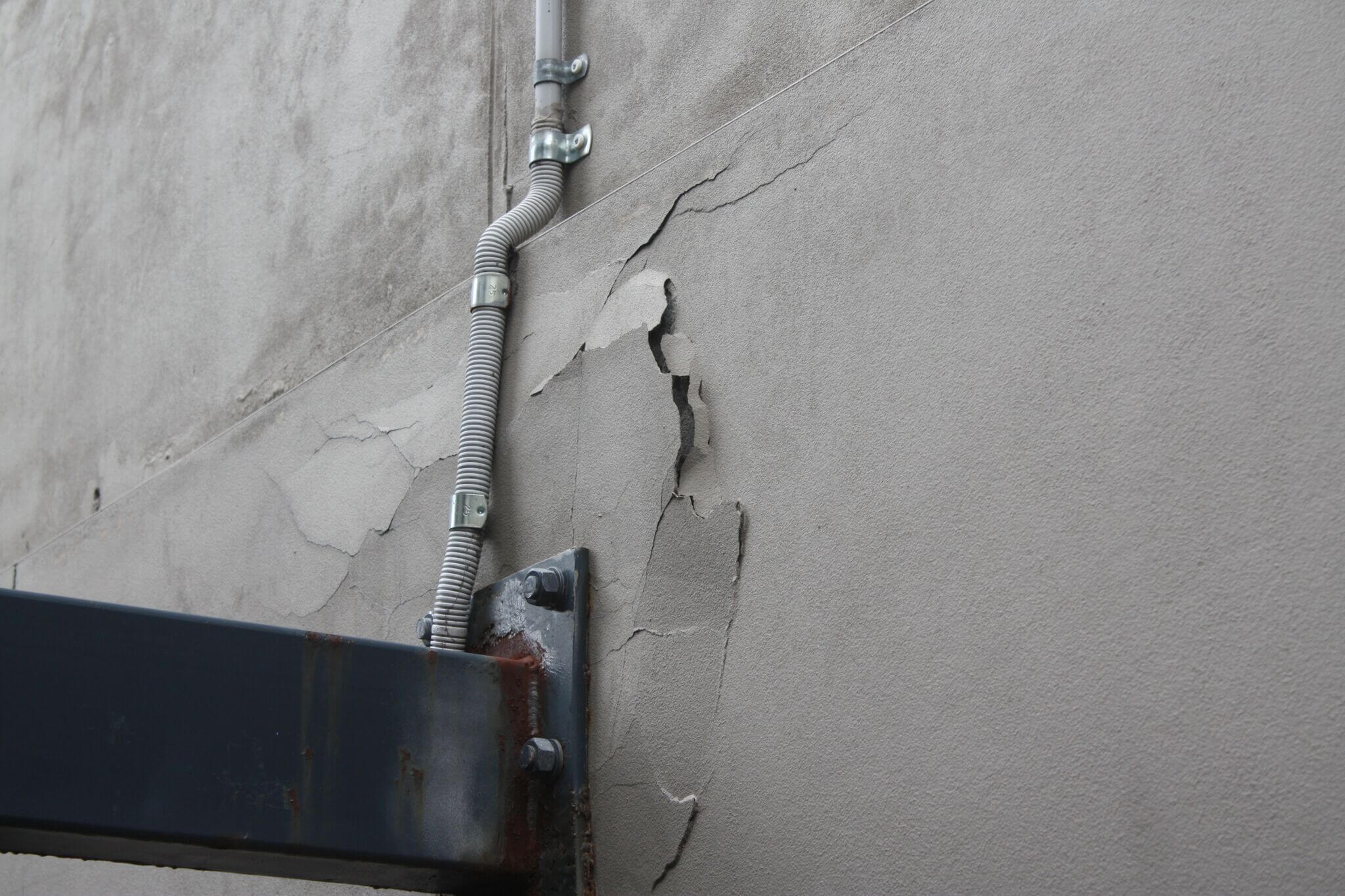 Peeling Paint - Structural Building Solutions - Remedial Building Services