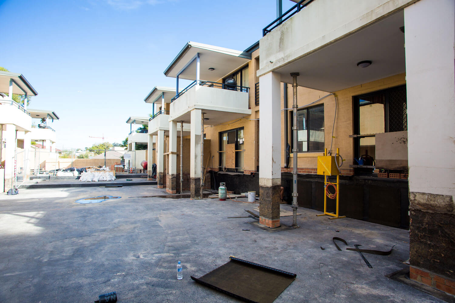 Planter Box Replacement Work - Facade Repair - Remedial Building Services