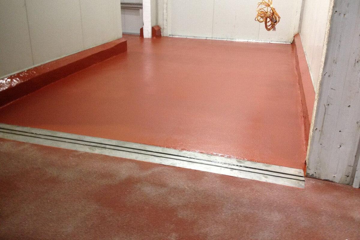 Polyurethane Flooring At Beak And Johnston - Flooring Solutions - Remedial Building Services