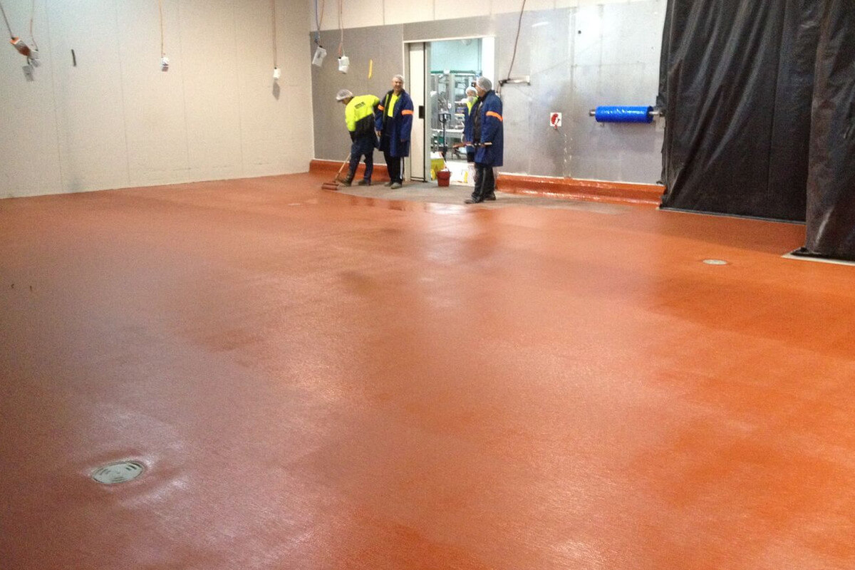 Install New Flooring At Beak And Johnston - Flooring Solutions - Remedial Building Services