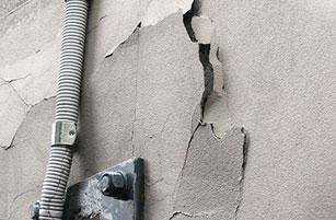 Peeling Paint - Facade Repair - Remedial Building Services