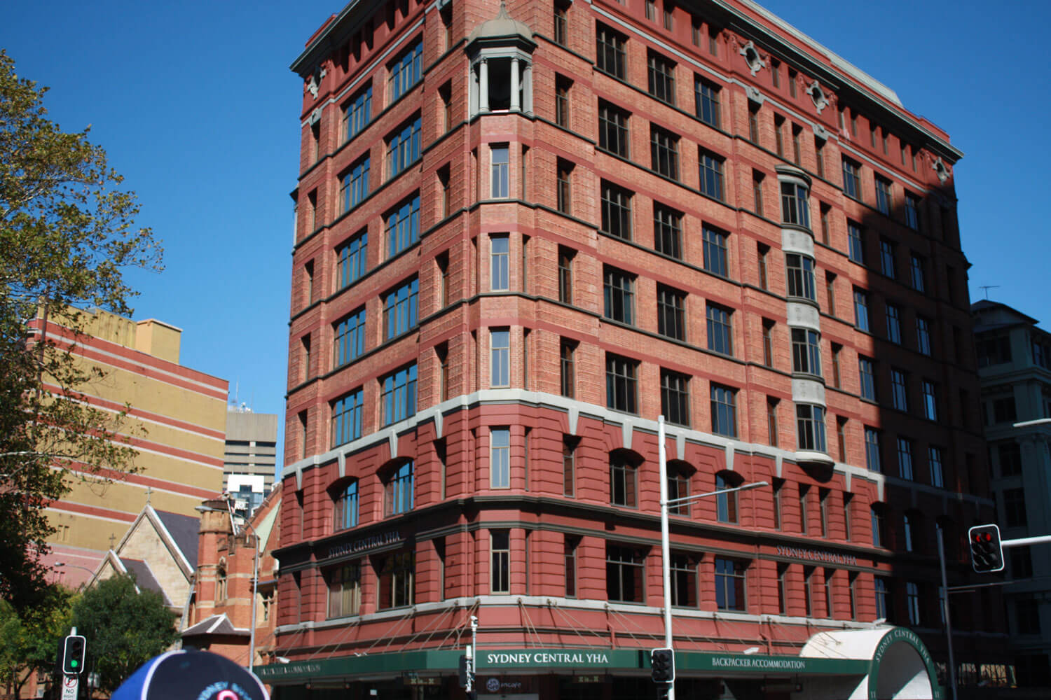 Sydney Youth Hostel Australia at Central Station - Building Maintenance - Remedial Building Services