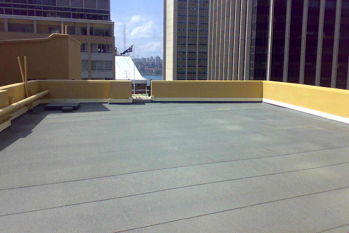 Rooftop OF The Department Of Eudcation - Waterproofing Membranes - Remedial Building Services