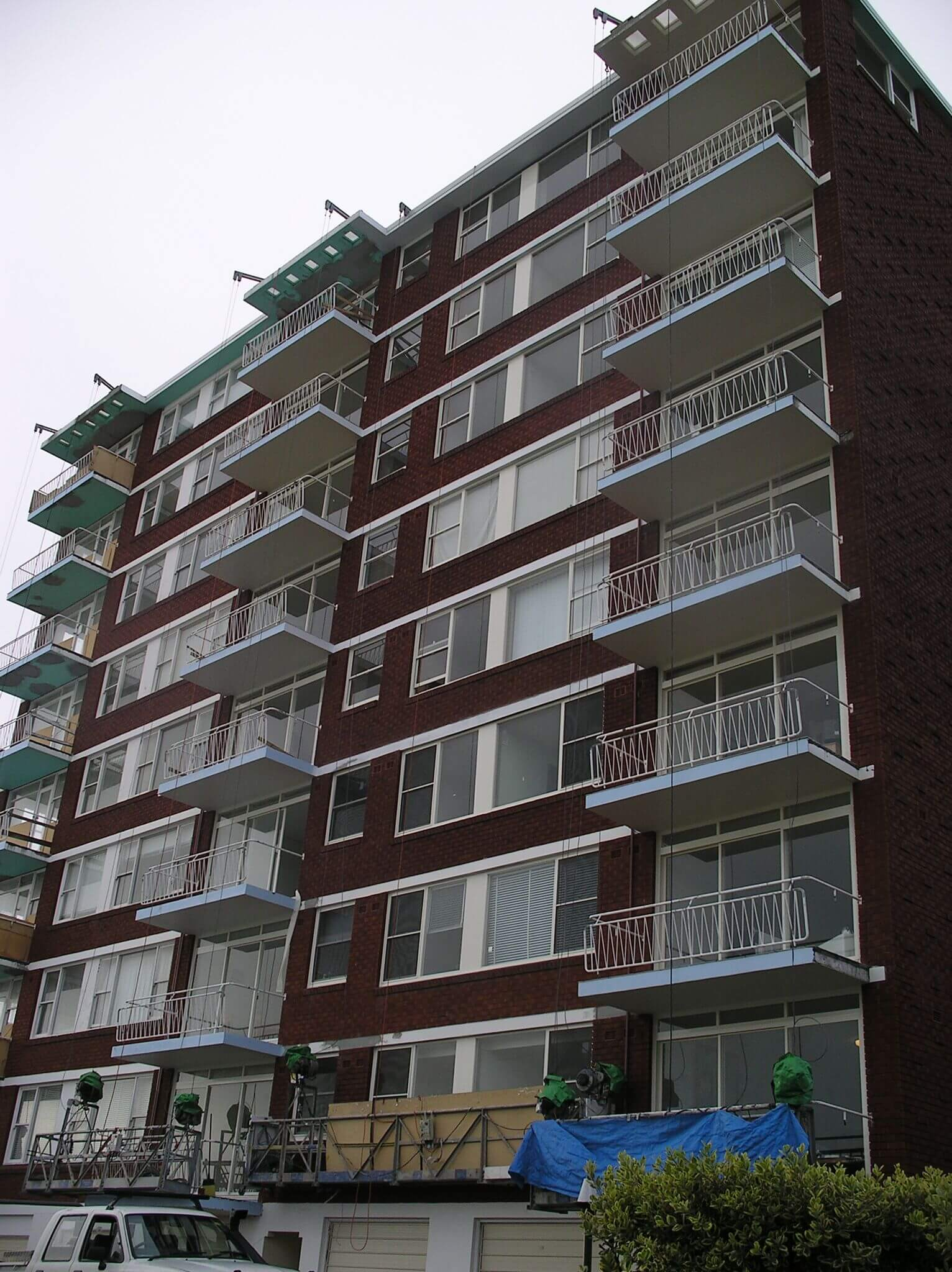 Windows And Balconies Of A Building - Structural Building Solutions - Remedial Building Services
