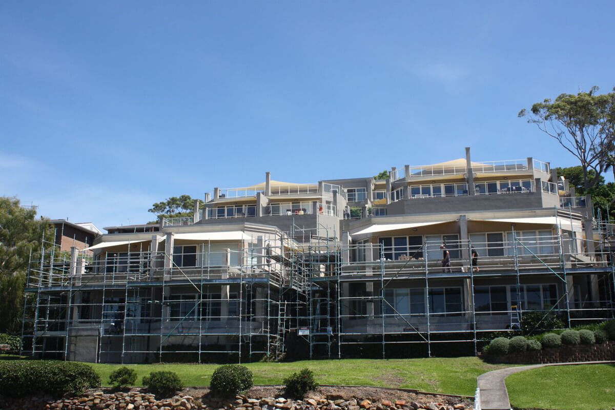 Wharf Street, Gosford - Structural Building Solutions - Remedial Building Services