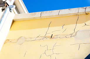Damaged Wall - Structural Building Solutions - Remedial Building Services