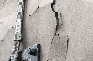 Wall Paint Peeling Off - Structural Building Repairs - Remedial Building Services