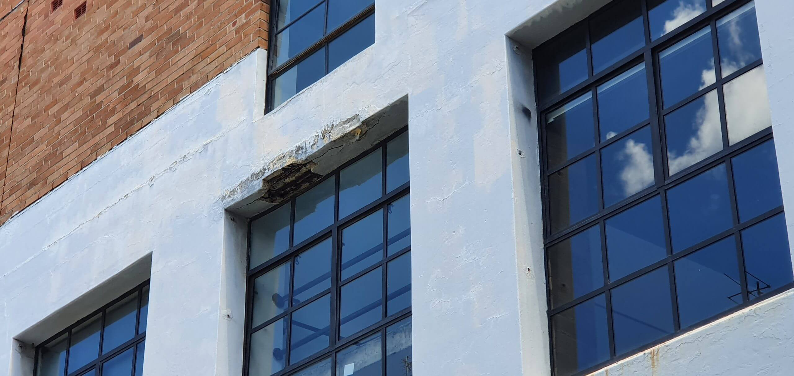 Damage Arch Bar And Lintel - Structural Building Repairs - Remedial Building Services