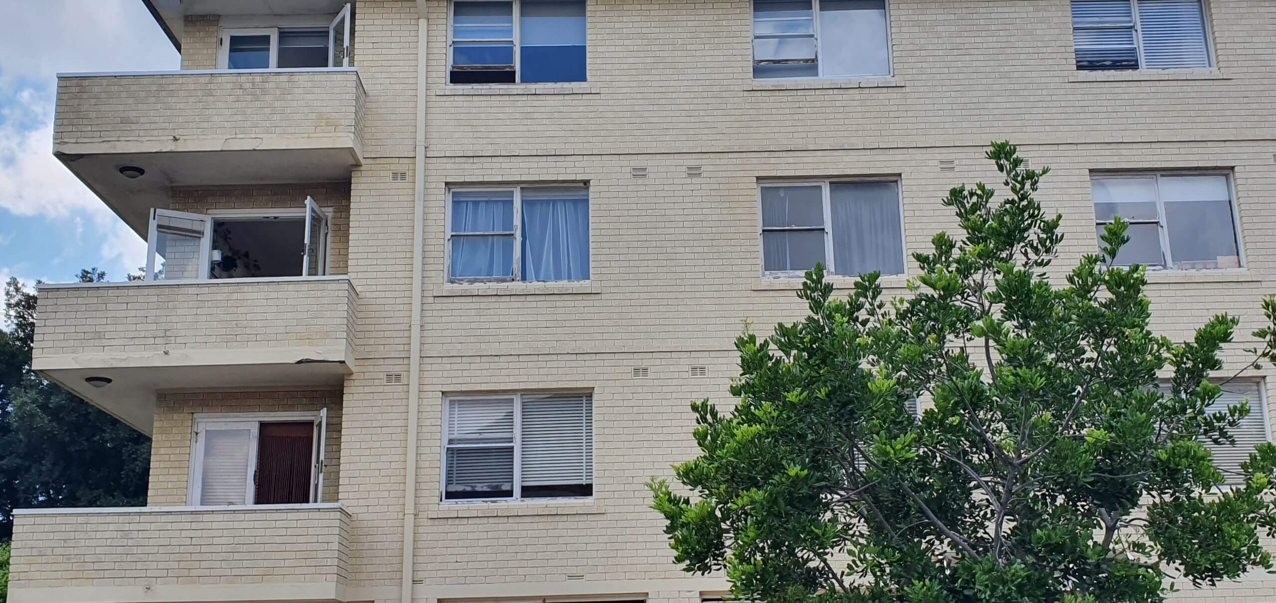 Windows And Balconies Of An Apartment Building - Façade Upgrade - Remedial Building Services