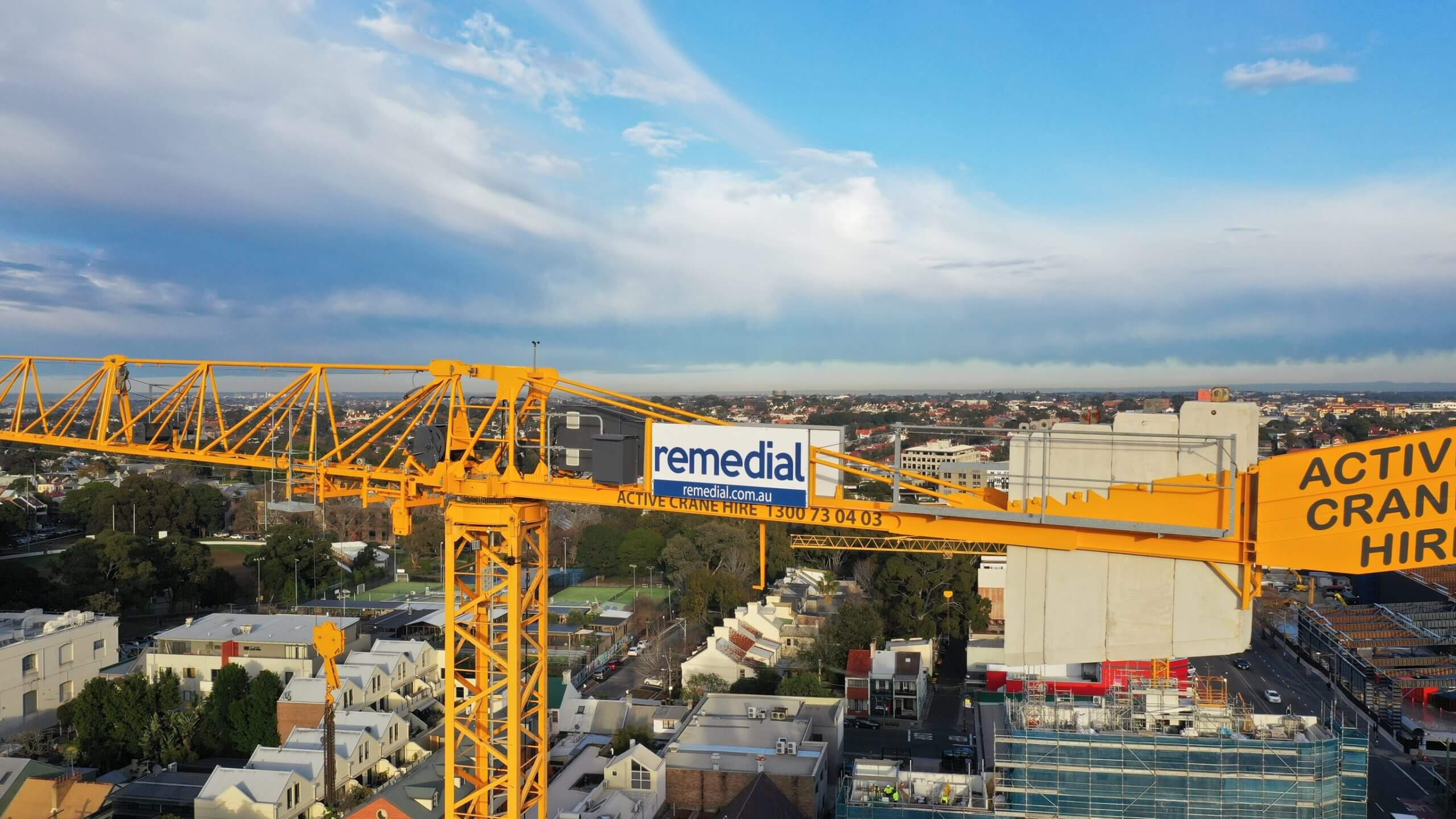Crane - Building Repair And Maintenance - Remedial Building Services
