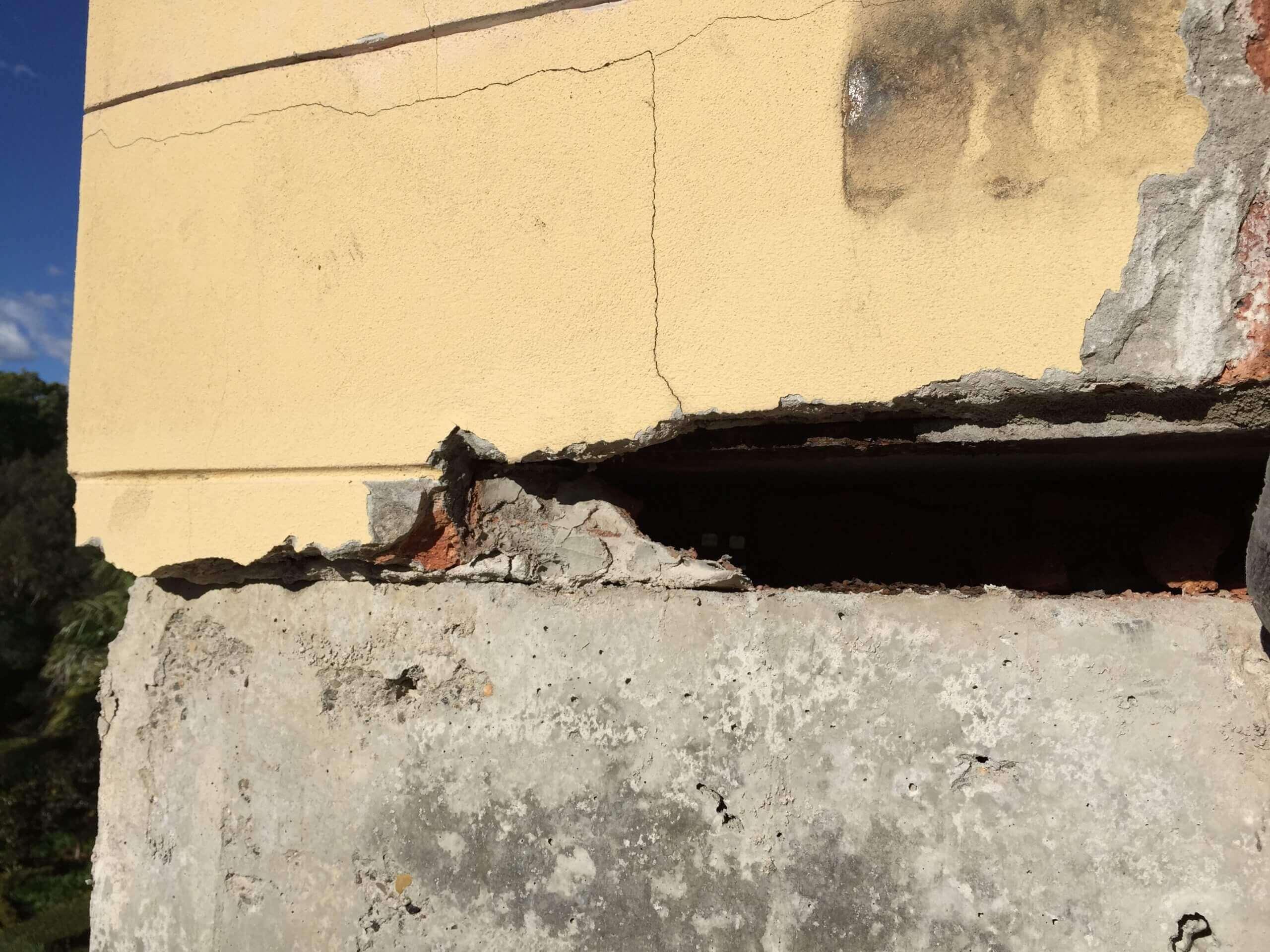Concrete Needs Repair - Concrete Spalling - Remedial Building Services