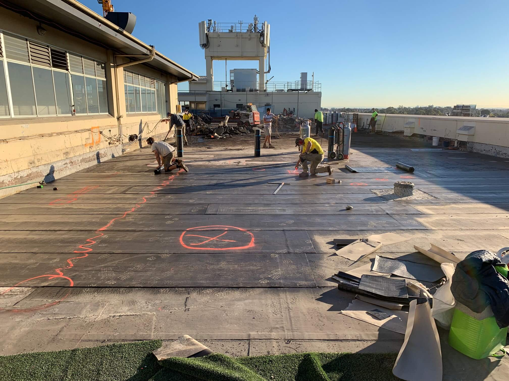 Installing Waterproofing And Membranes - Structural Repair - Remedial Building Services