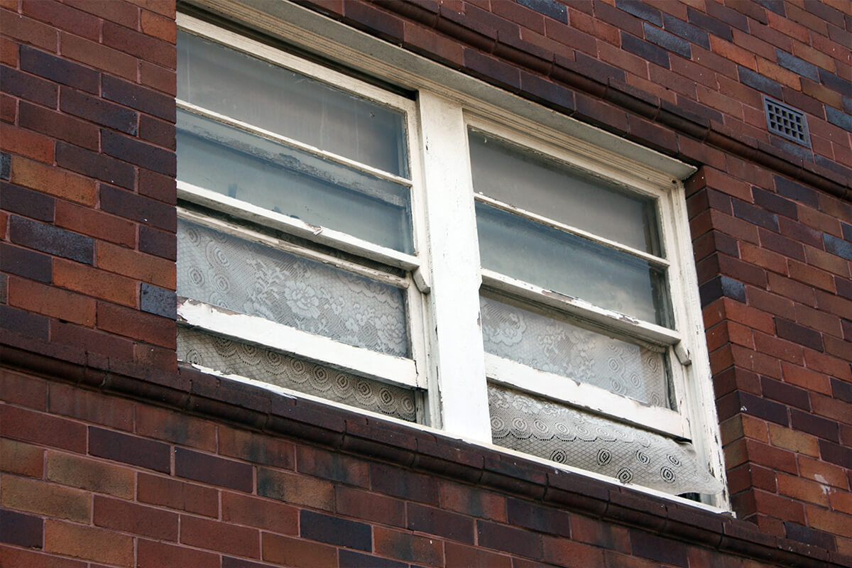 Damage Window Needs Replacement - Building Repairs And Maintenance - Remedial Building Services