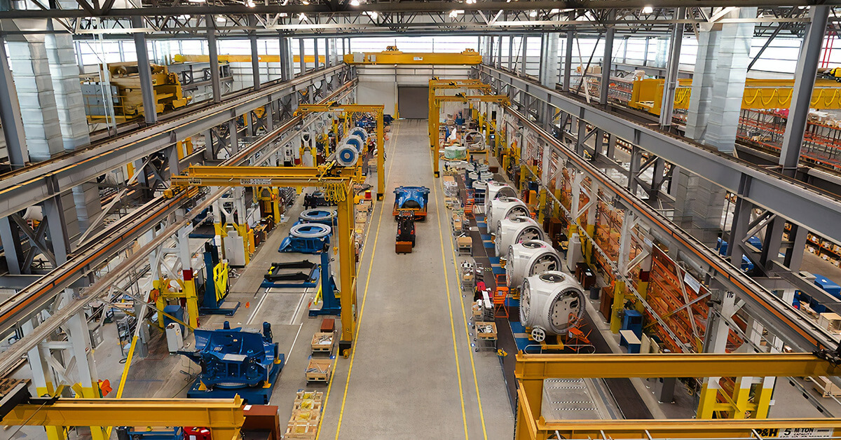 Flooring for industrial facility management - Remedial Building Services